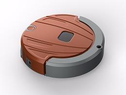 石皮设计工作室扫地机器人配色设计