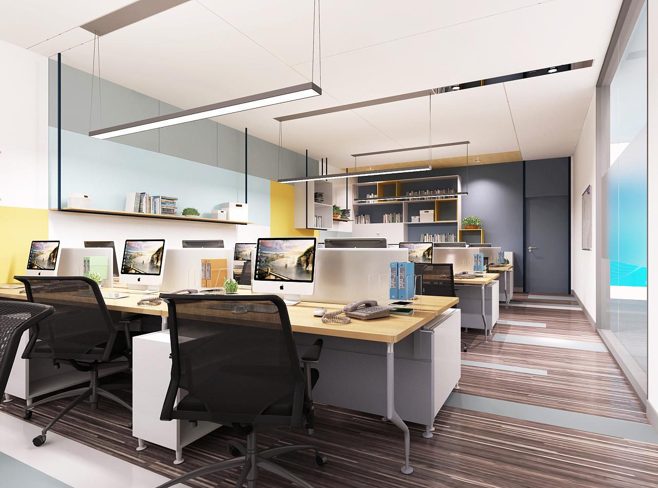 办公空间 效果图