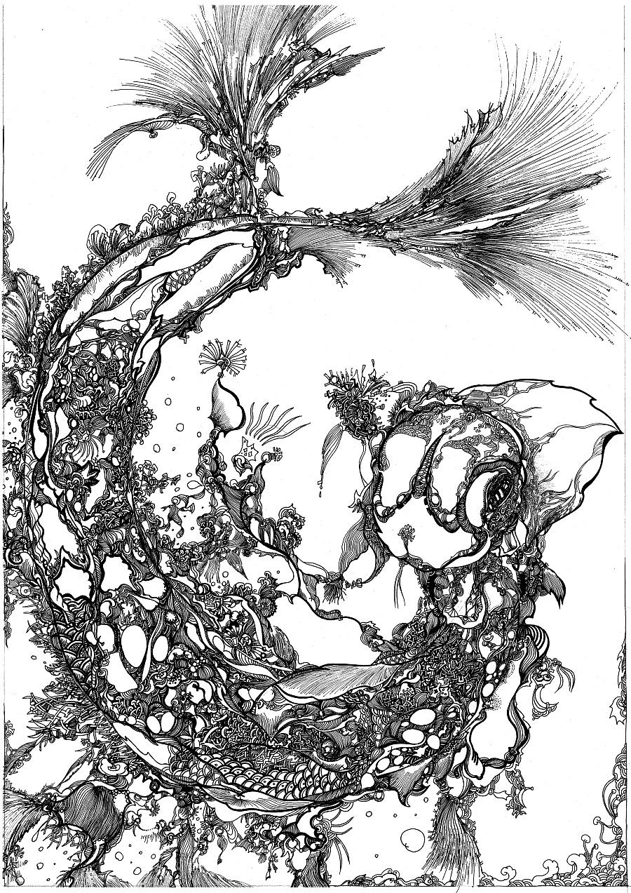 手绘插画|其他|其他|失落记忆