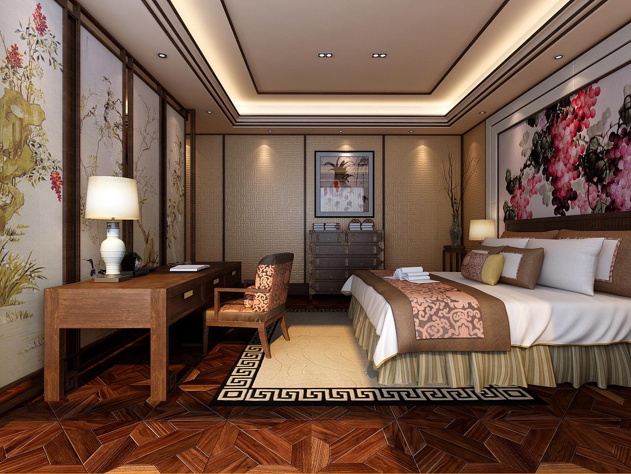 新中式室内设计效果图