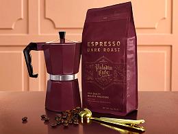 圣骑士咖啡品牌形象设计