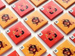 巧克力品牌Avanna邀请Cecile Gariepy创作包装设计