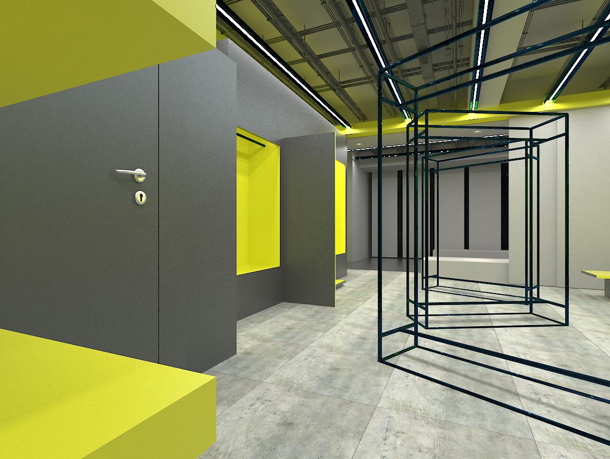 北京动物园众合韩国城-5f|空间|室内设计|rkdd - 原创