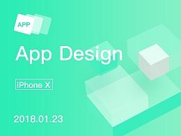 Financial App Design【iPhone X】