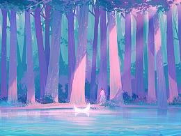 蓝色森林的梦境