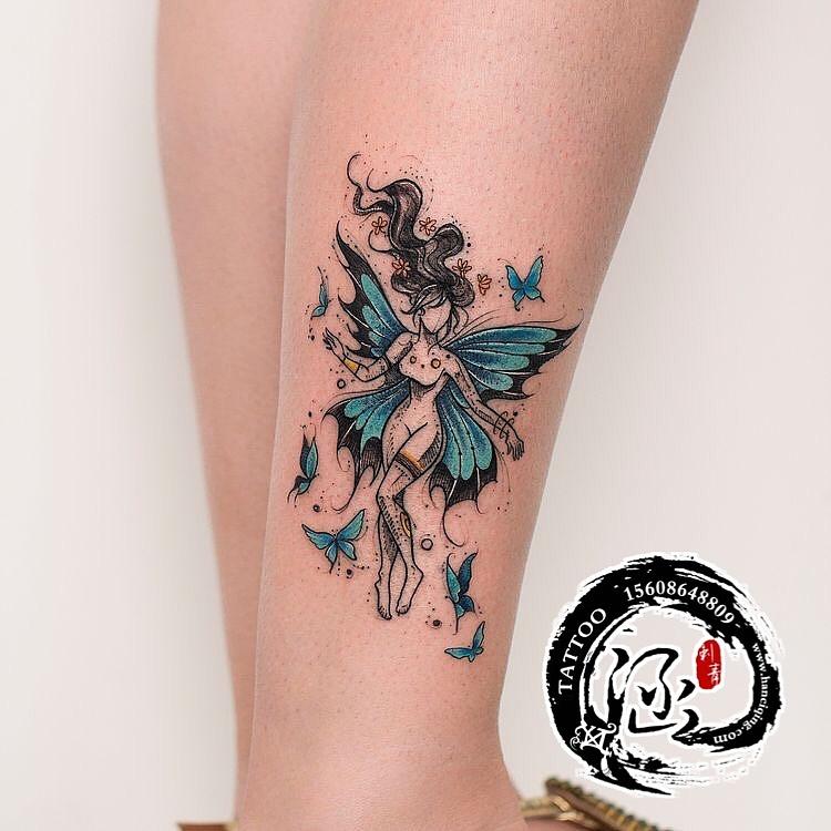 武汉纹身涵刺青,纹身图案,小清新纹身图片