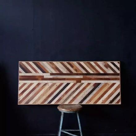 各种颜色的木料拼接做家具|其他手工|手工艺|庐山