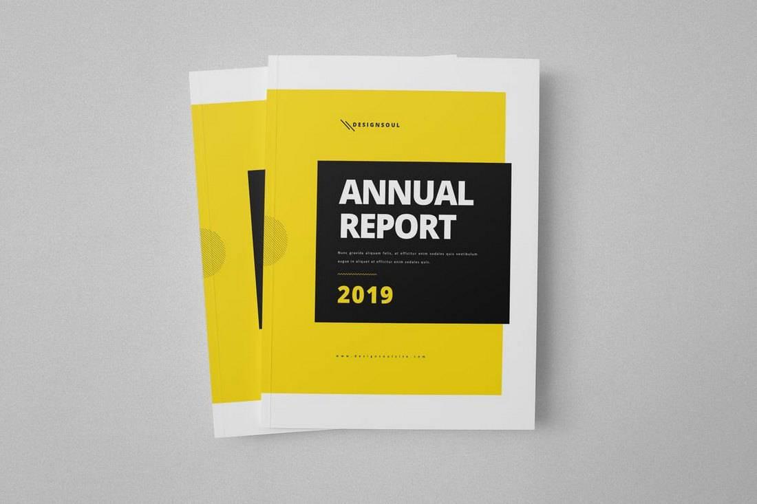 年度报告模板(word和indesign)2019|平面-其他|观点图片