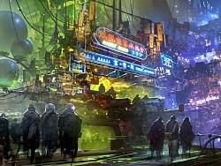 朱峰BOSS的《星际特工:千城之城》概念稿欣赏
