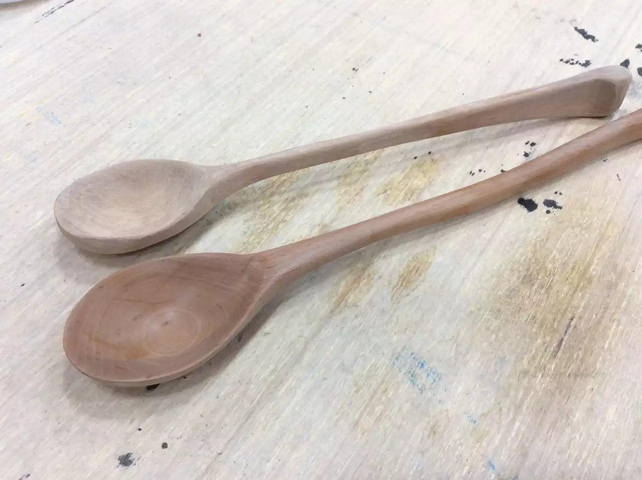 手工做勺子
