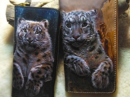 雪豹——情侣钱包