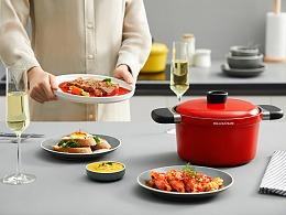 艺术厨房 | 意大利尚尼锅具组合 X 当下视觉摄影