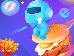 饿了么吉祥物blue blue形象设计