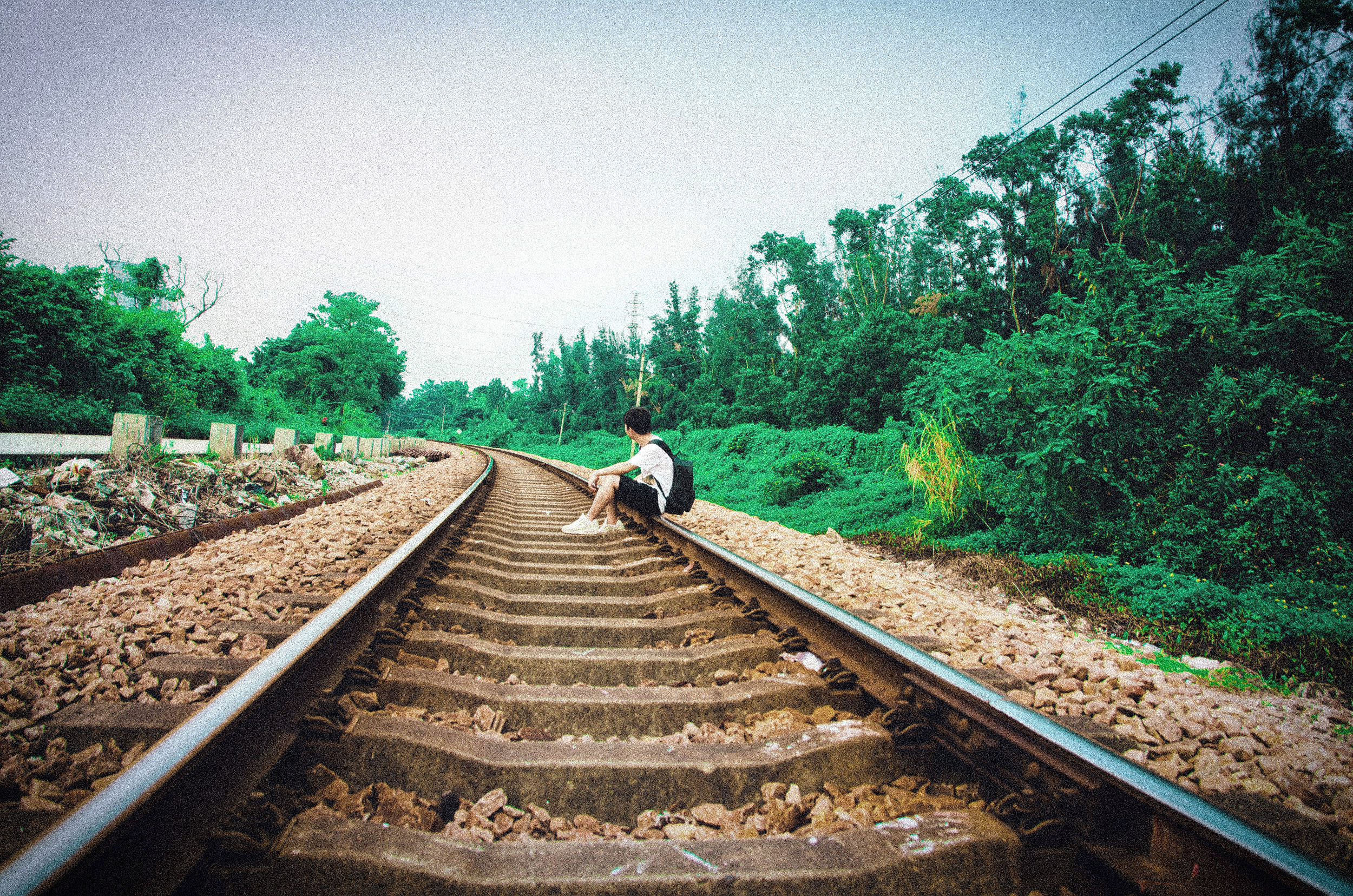 火车铁轨摄影