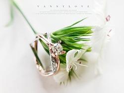 梵尼洛芙珠宝 | 洛可可女王系列求婚钻戒【方圆】