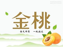 桐珍三九企业集团金桃果汁饮料包装设计 品牌形象设计