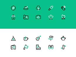野营icon