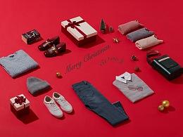 圣诞节、情人节 主题式kv创意