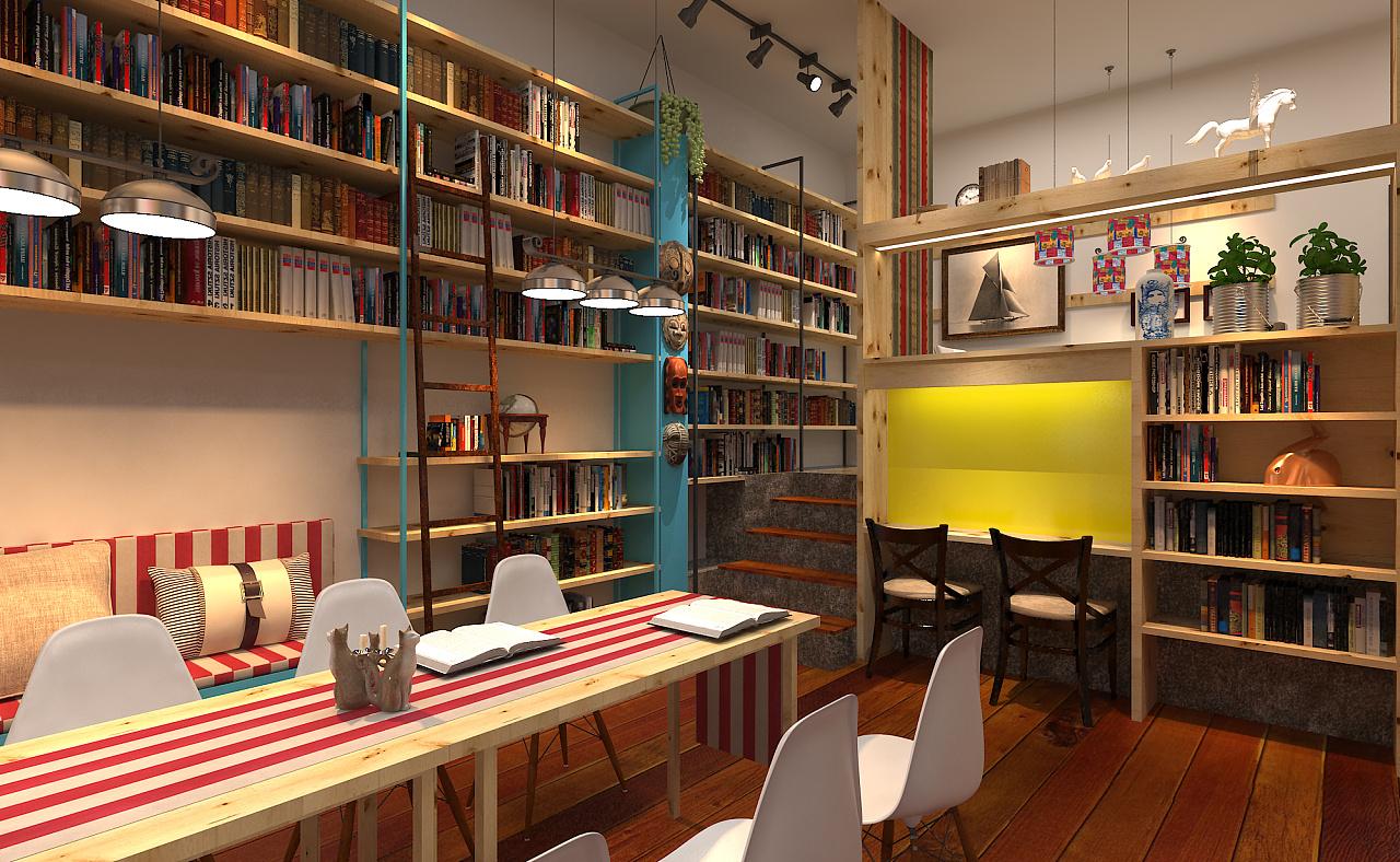 新华书店_书店升级改造 空间 室内设计 低音E - 原创作品 - 站酷 (ZCOOL)