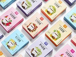 五堂时品-黑糖茶系列包装