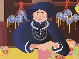 二十集系列民族动画短片之绣球篇