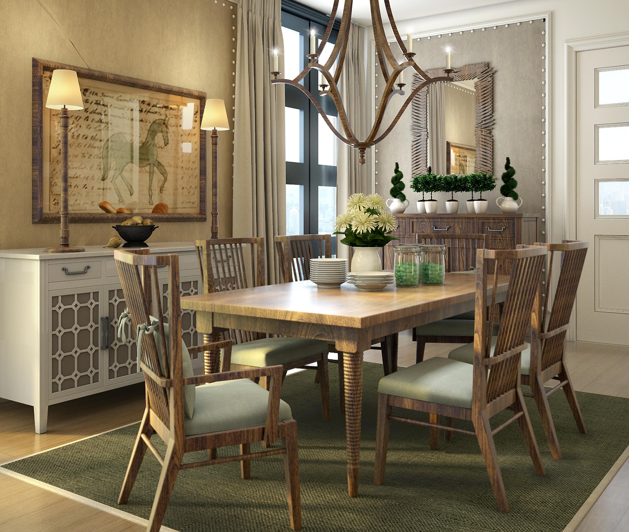 超小客厅放餐桌图片-餐桌装修效果图_冰箱装修效果图_客厅餐桌椅_餐桌