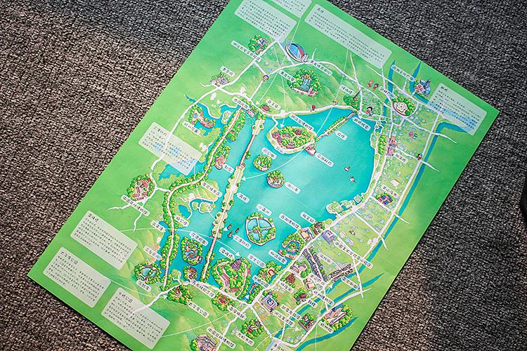杭州手绘地图