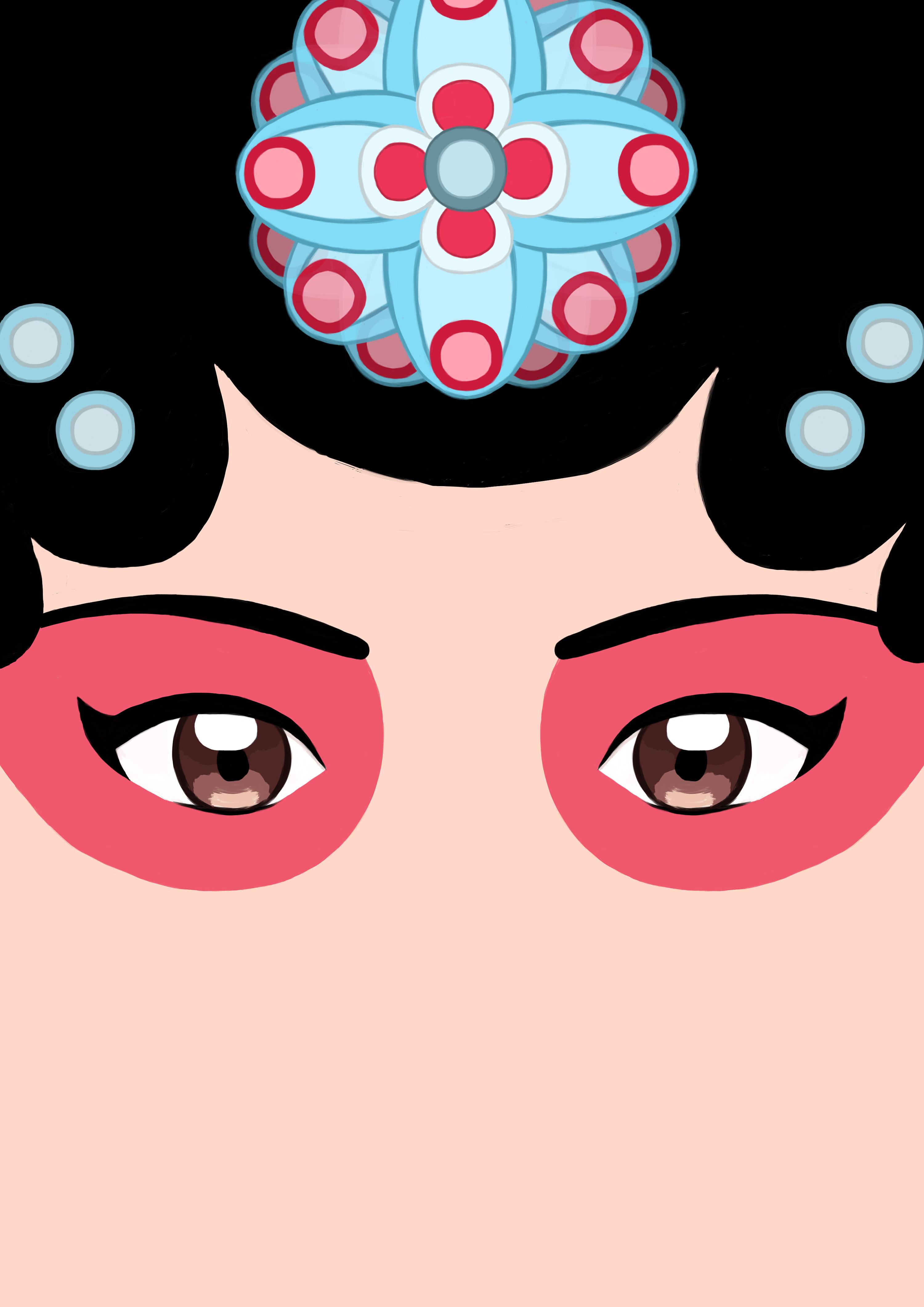 昆曲脸谱元素文创设计