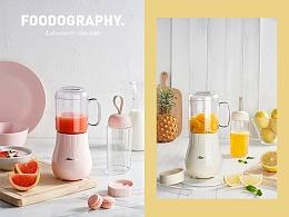 一杯家用 一杯便携|小熊双杯果汁机|foodography
