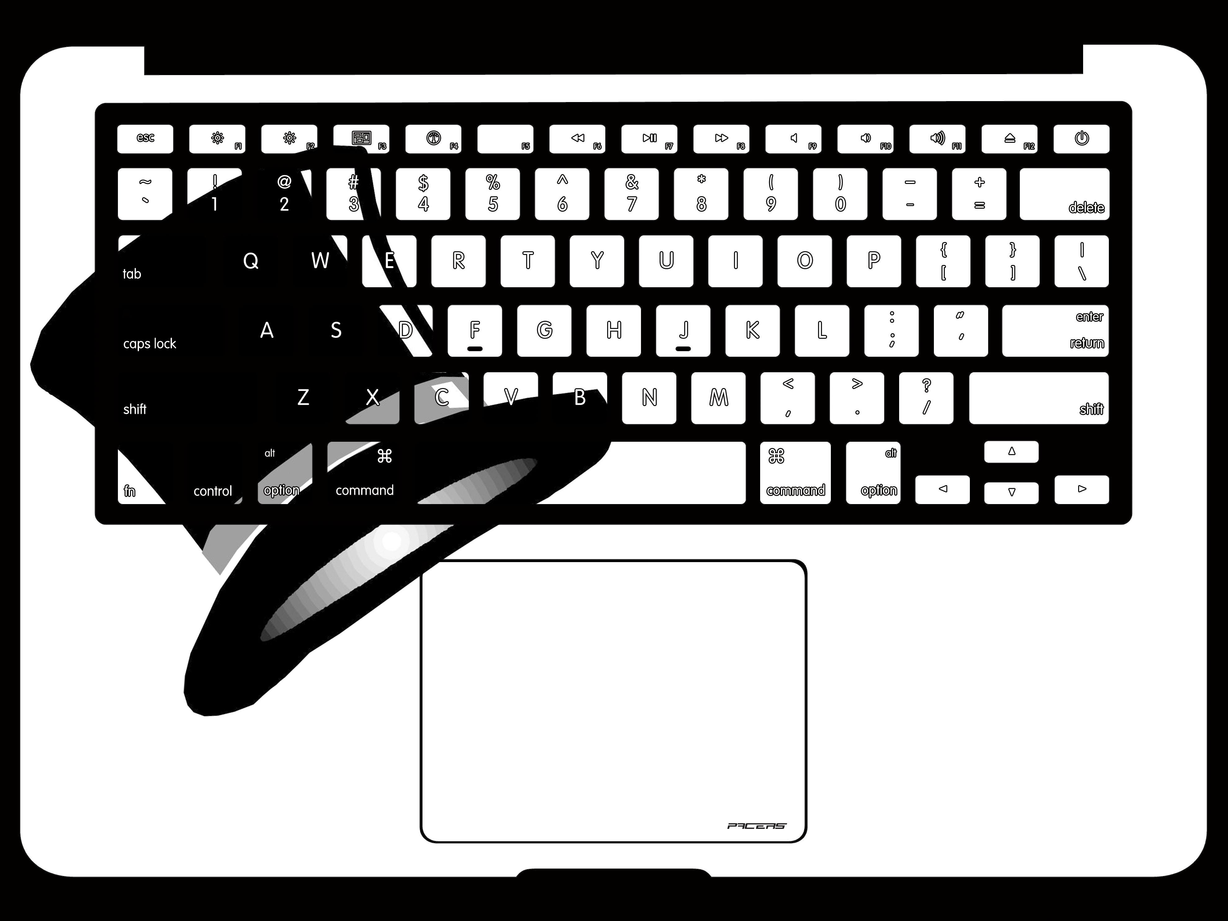 黑白平面构图