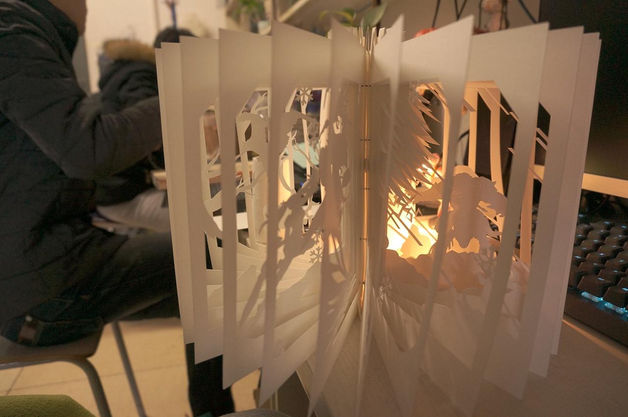 魔兽世界主题边框图纸书尺寸书加长a214/纸雕手工立体图片