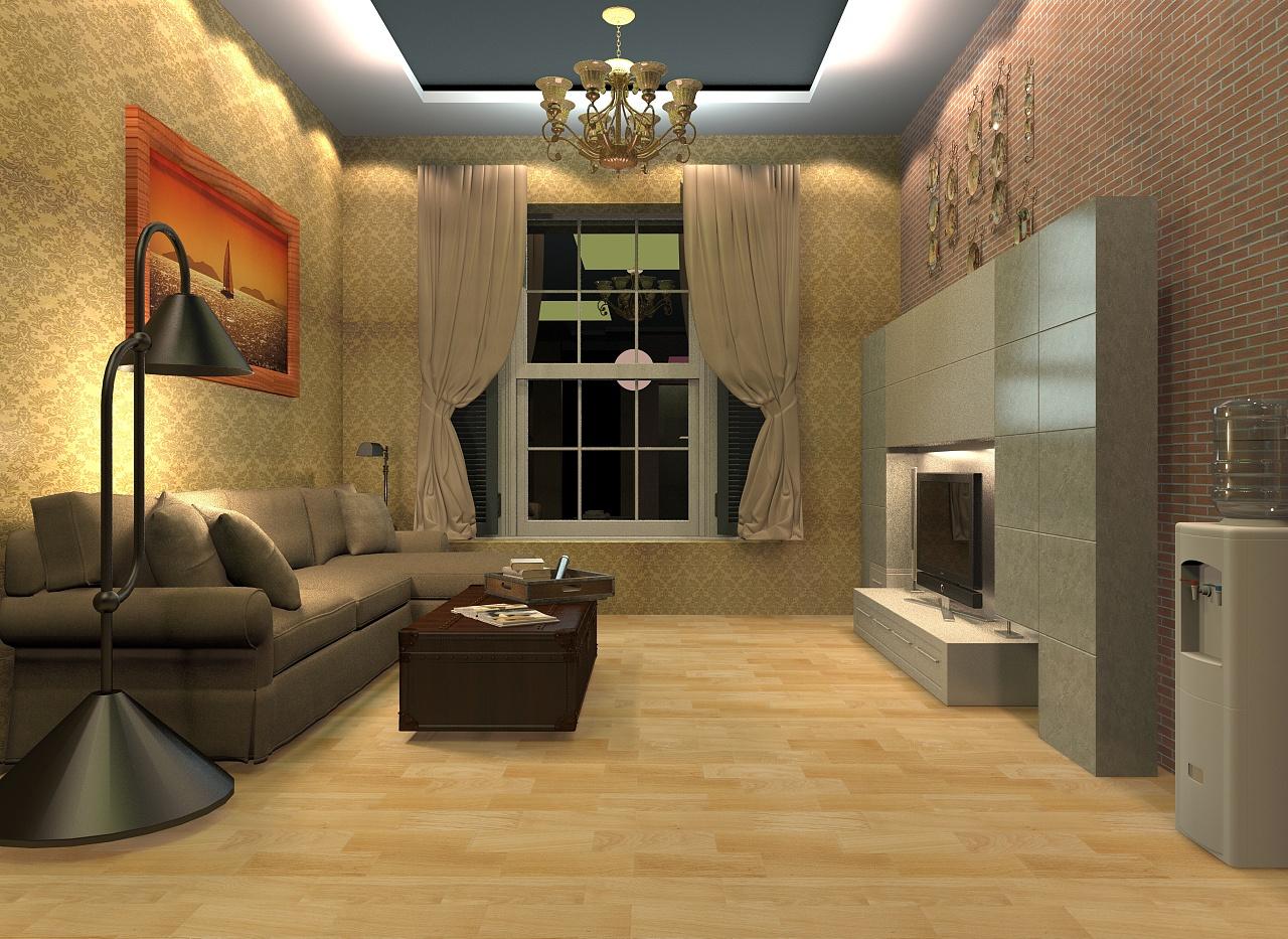 3d 室内设计效果图