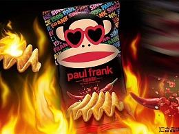 汇合案例|paul frank大嘴猴~大波浪薯片