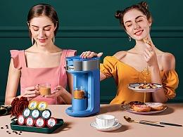 Capzo咖啡胶囊 X 问虎品牌战略视觉