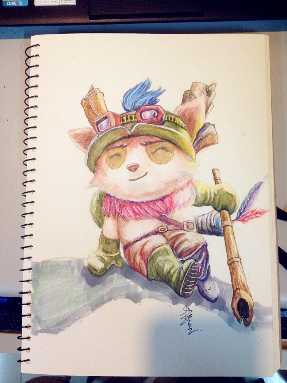 手绘彩铅练习|插画|插画习作|linchikim - 原创作品