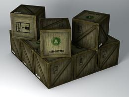 【C4D练习】3DBox贴图练习