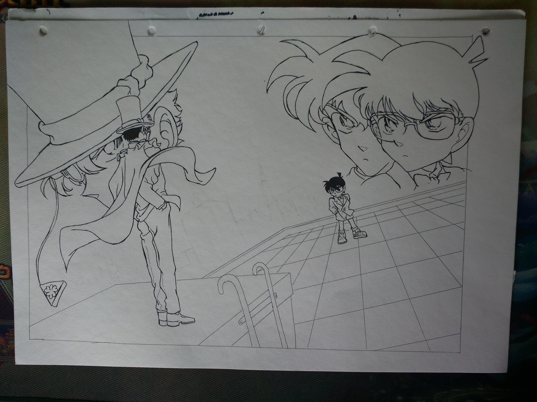 名侦探柯南手绘练习
