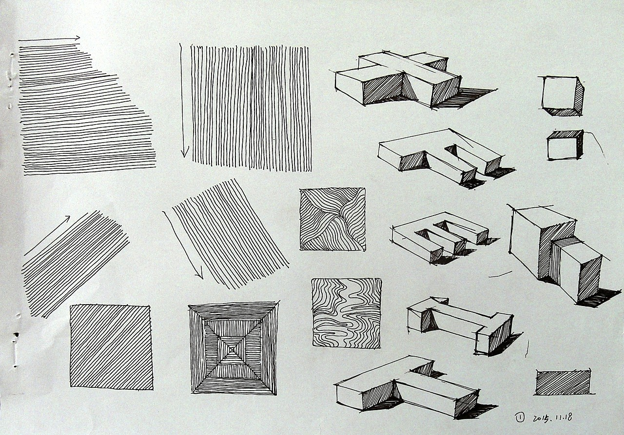 工业设计手绘线条练习|工业/产品|生活用品|idshouhui