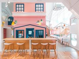 青岛亲子咖啡空间设计