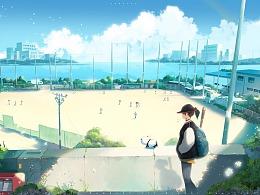 野球场的夏天
