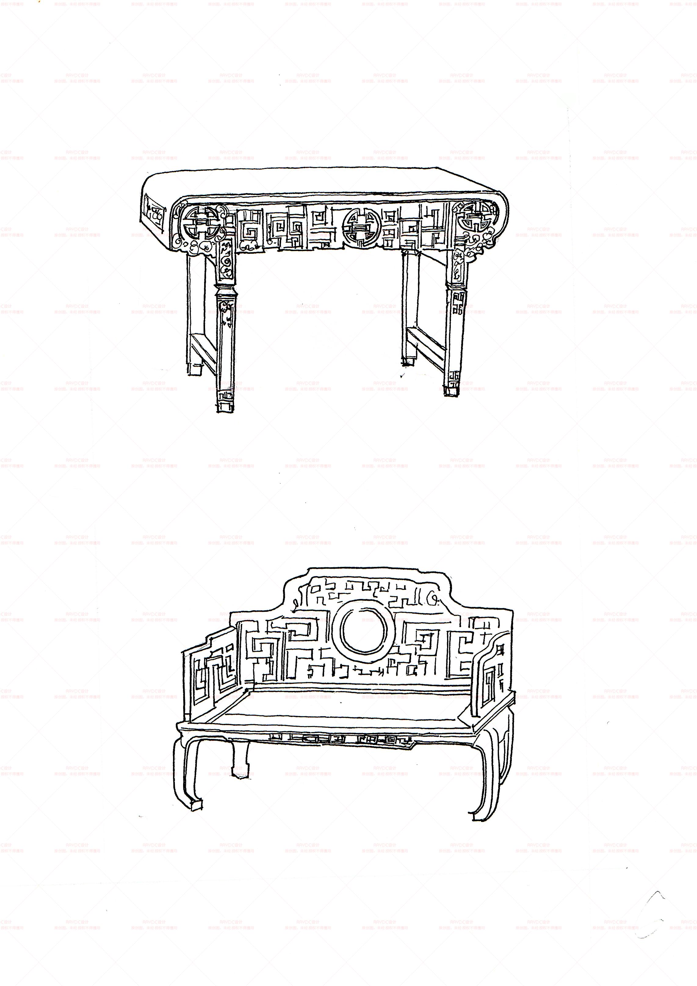 家具手绘 工业/产品 家具 pc巧克力 - 临摹作品
