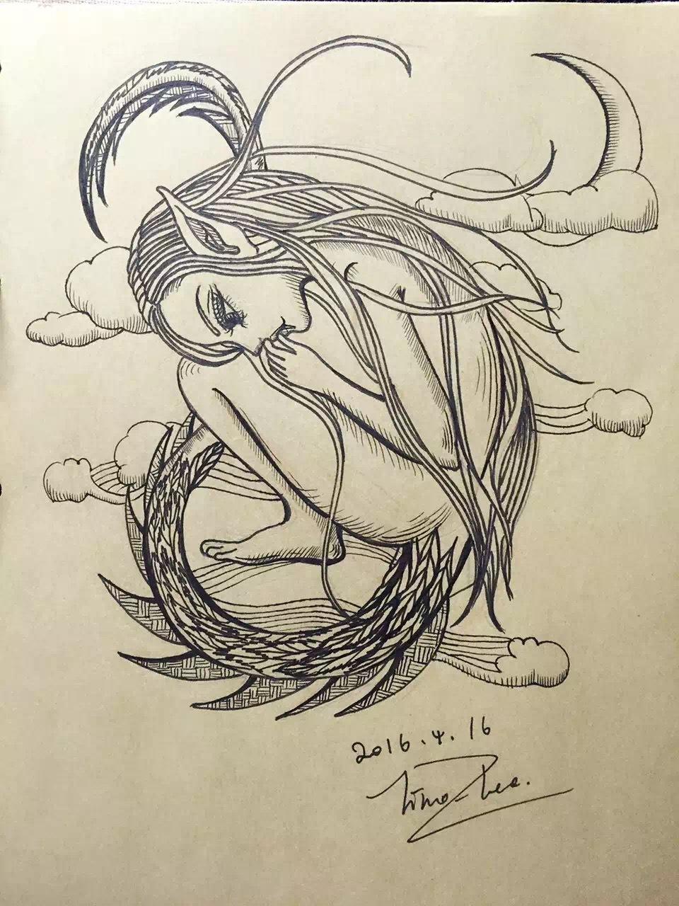 手绘|纯艺术|其他艺创|李公公 - 原创作品 - 站酷