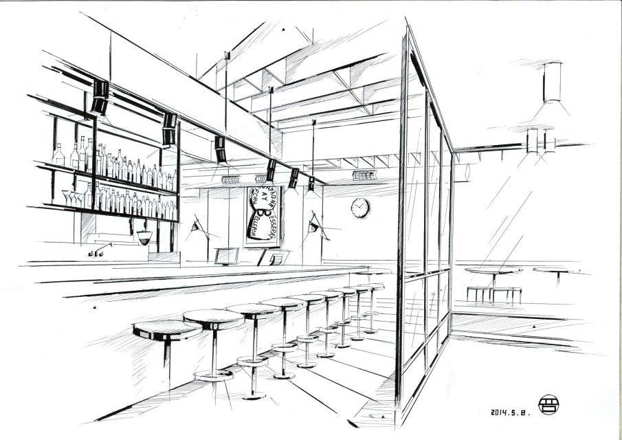 室内手绘|空间|室内设计|qq479839493 - 原创作品