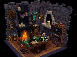 第一次作业   巫师房子
