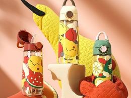 【母婴用品】中童吸管杯详情渲染设计