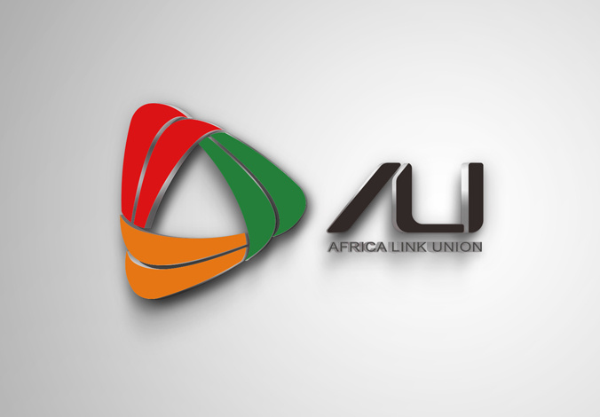 非洲联盟Africa link union logo标志设计