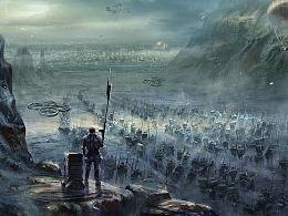 翻越洛基山。大规模行军。
