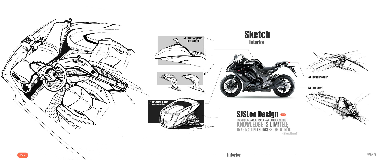 汽车设计手绘练习 工业/产品 交通工具 lesoln - 原创