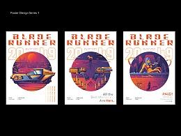 Blade Runner 2049 海报设计