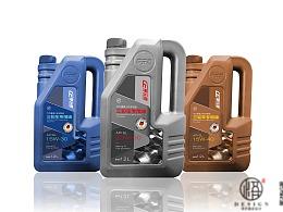 机油润滑油包装设计-悟杰品牌视觉设计